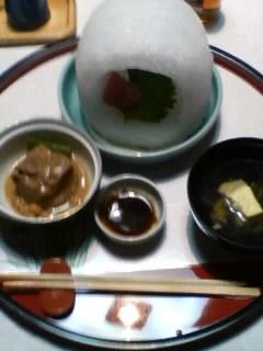 秀水園の夕食