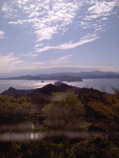 鳴門海峡秋景色