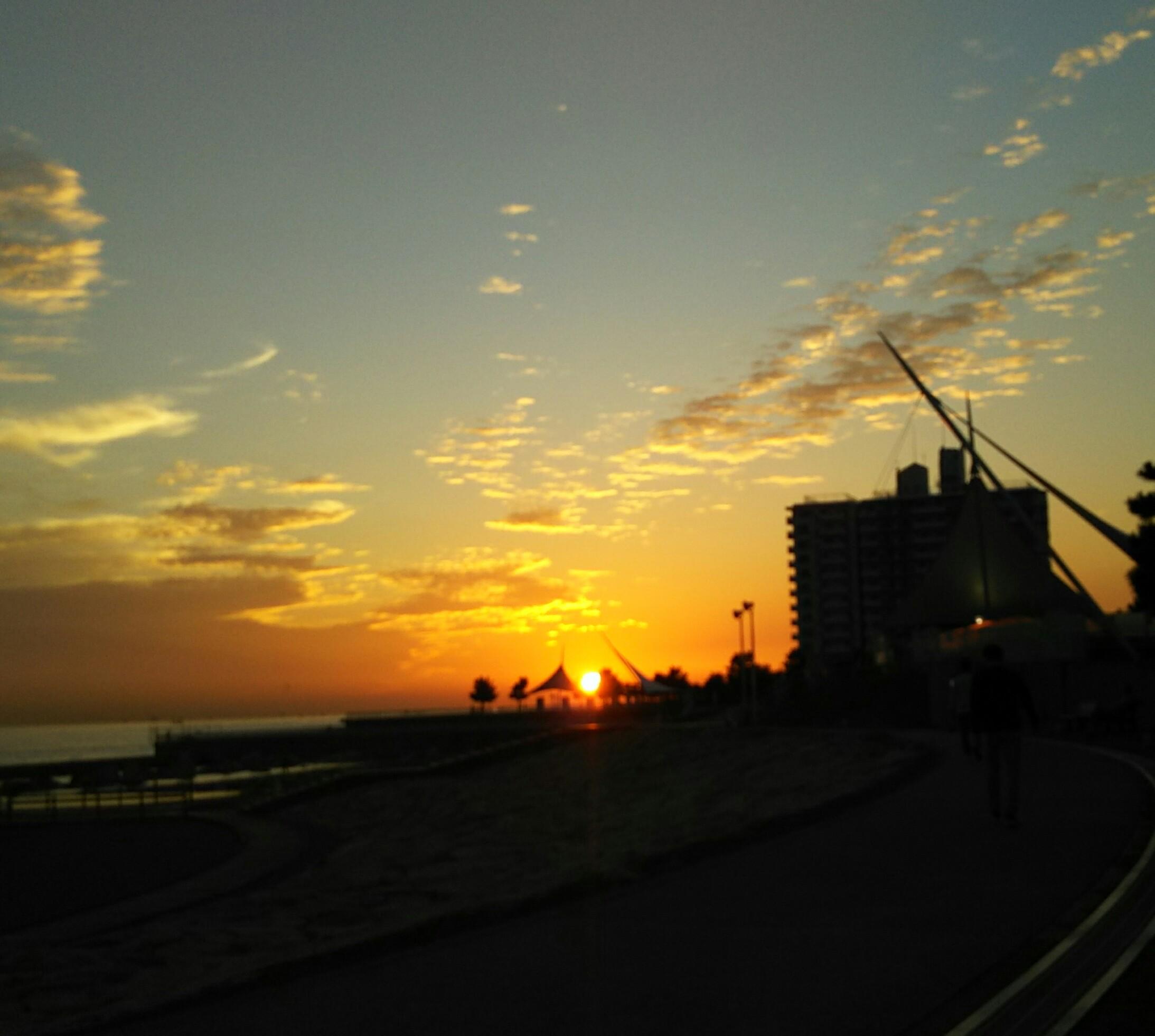 大蔵海岸夕陽